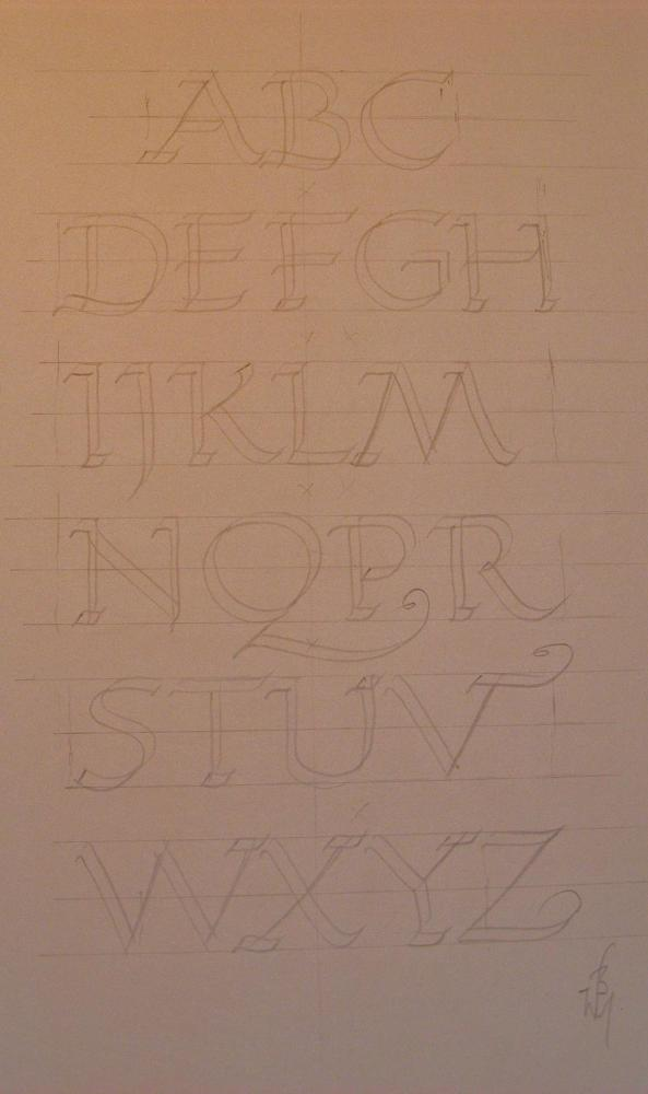 Learn Roman Capitals. Updated March 2013 (1/2)