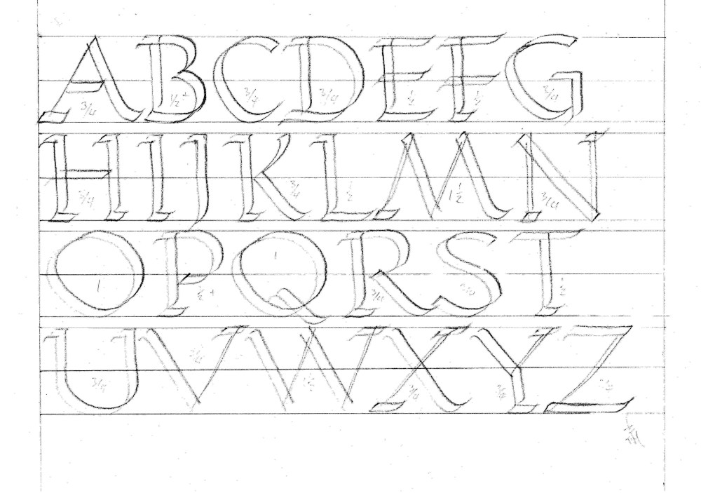 Learn Roman Capitals. Updated March 2013 (2/2)