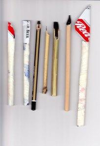Hand made pens. Cola pens. img. jpg