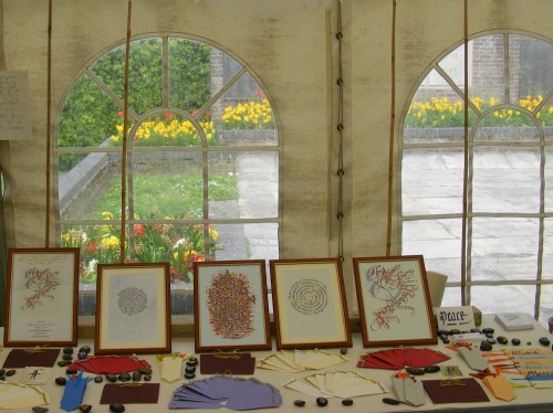 Medieval Dunstable. Our stall. img. jpg.