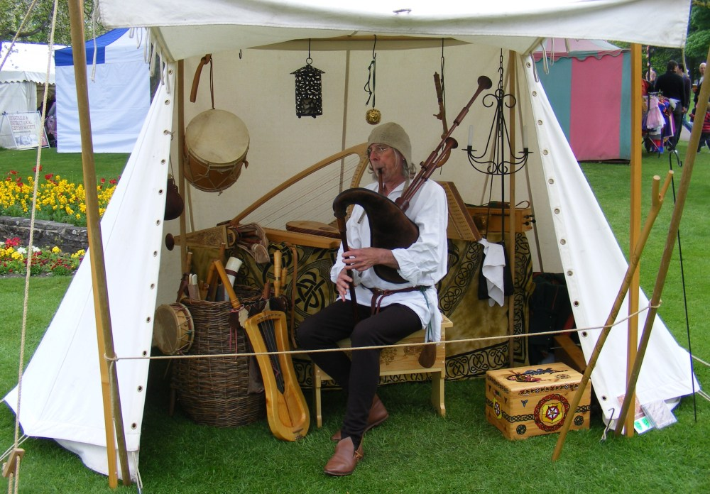 Dunstable Medieval Weekend with Brother William (6/6)