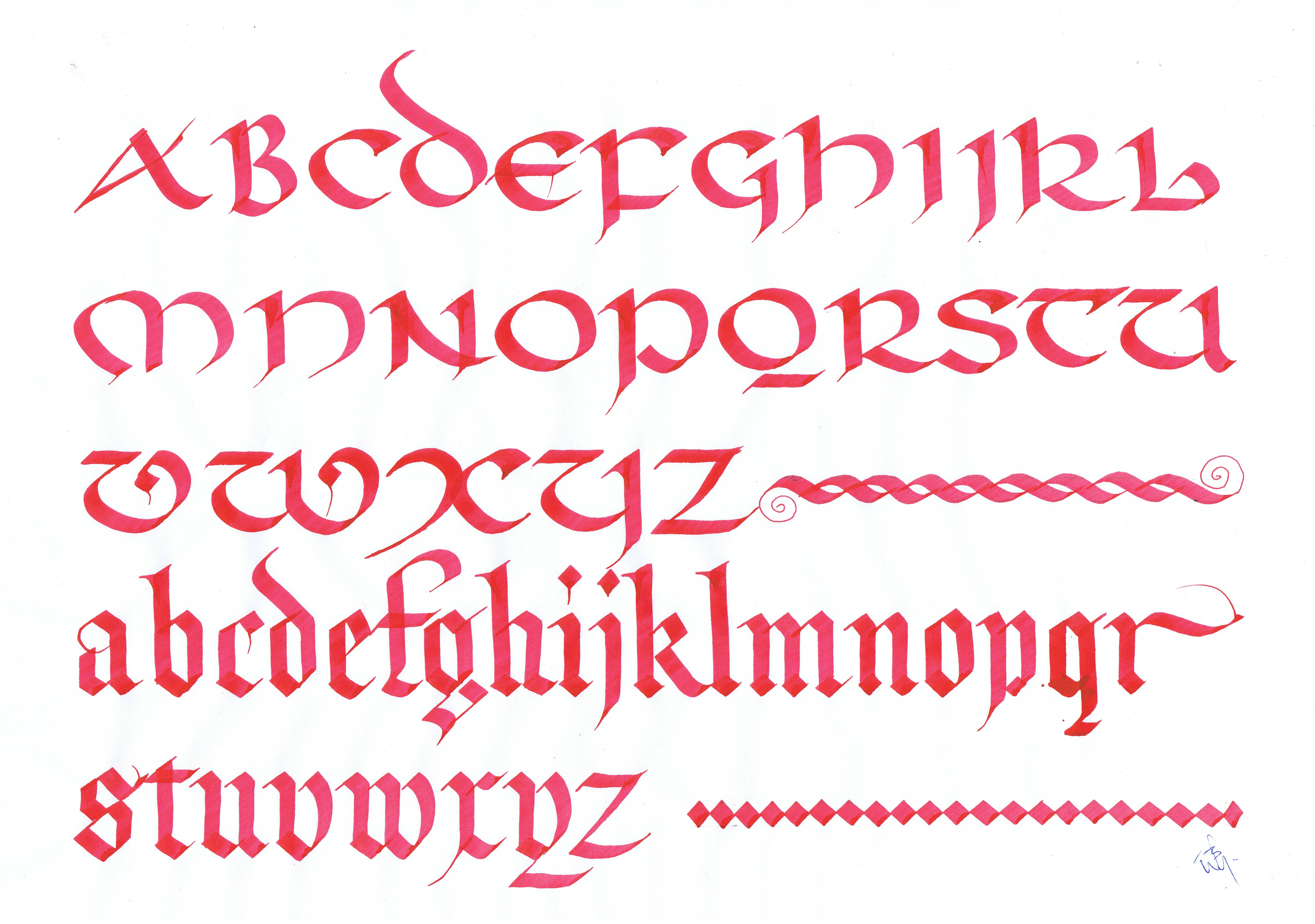 Irish Uncial Font