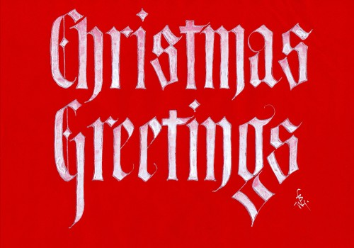 Christmas Greetings 3