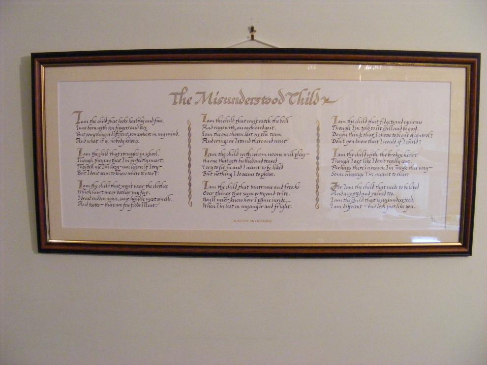 The Misunderstood Child,calligraphy,image,jpg