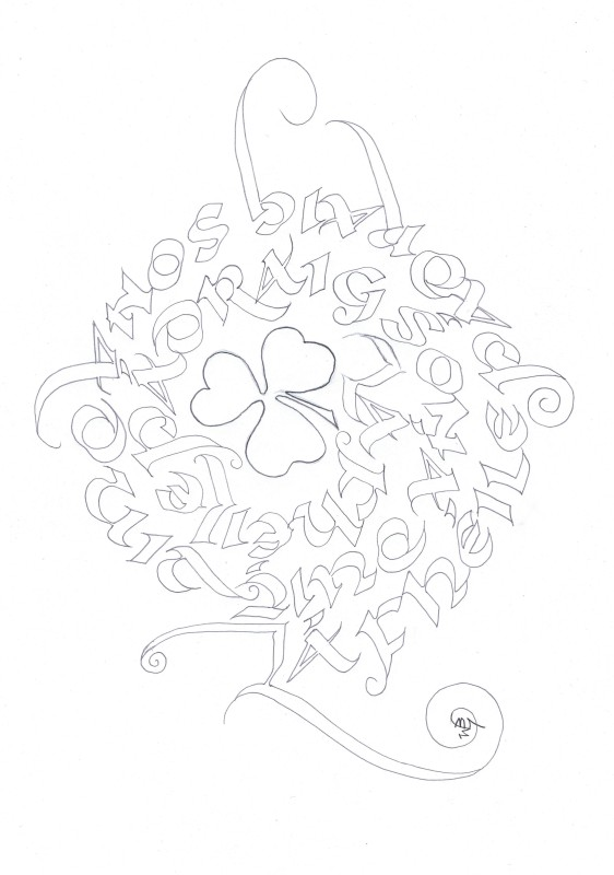 calligraphy,spiral,gaelic,happy st patrick's day,jpg,img
