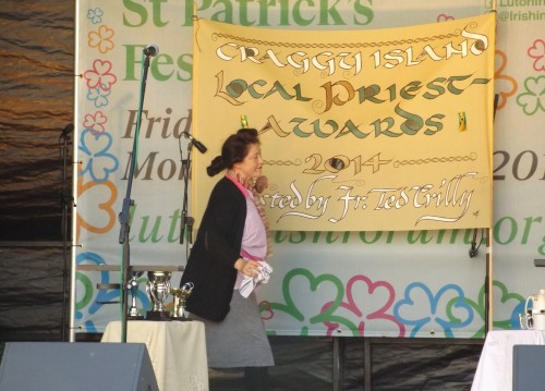 Making and using St Patrick's Day Banner