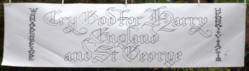 Calligraphy,St George,Henry V,jpg,img