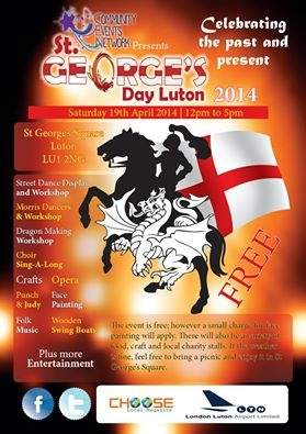 St George's Day luton